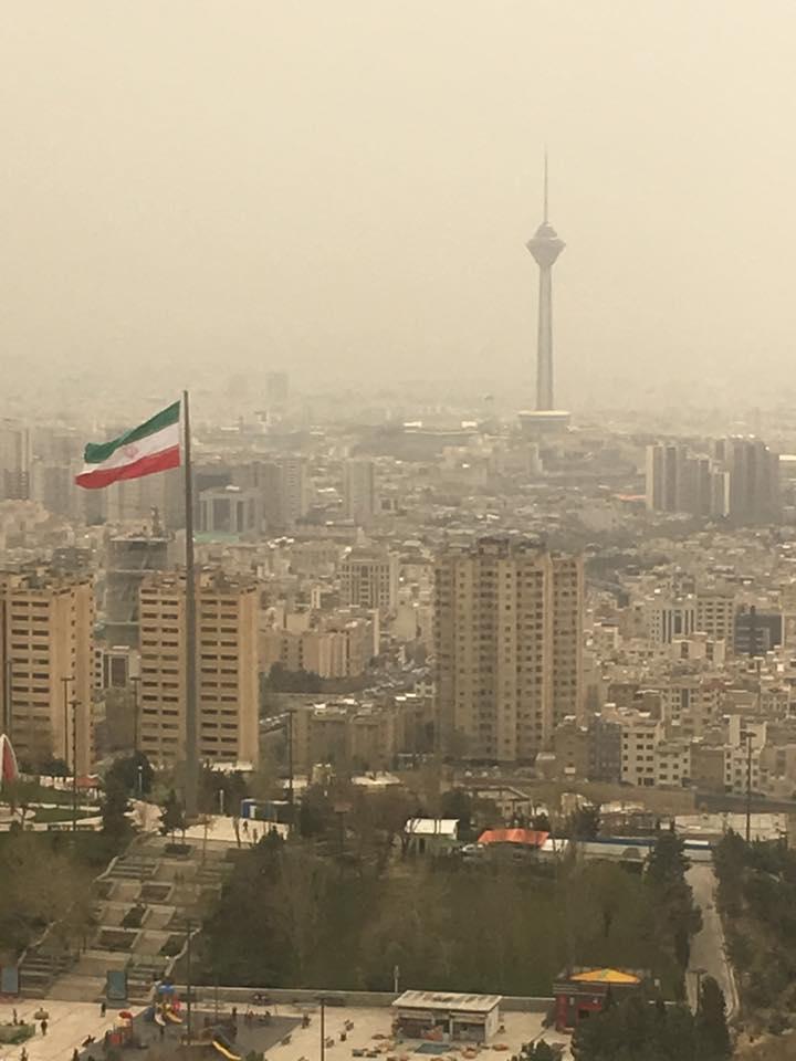 Tehran city scape